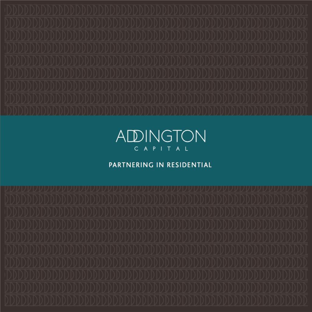 Addington Capital Brochure