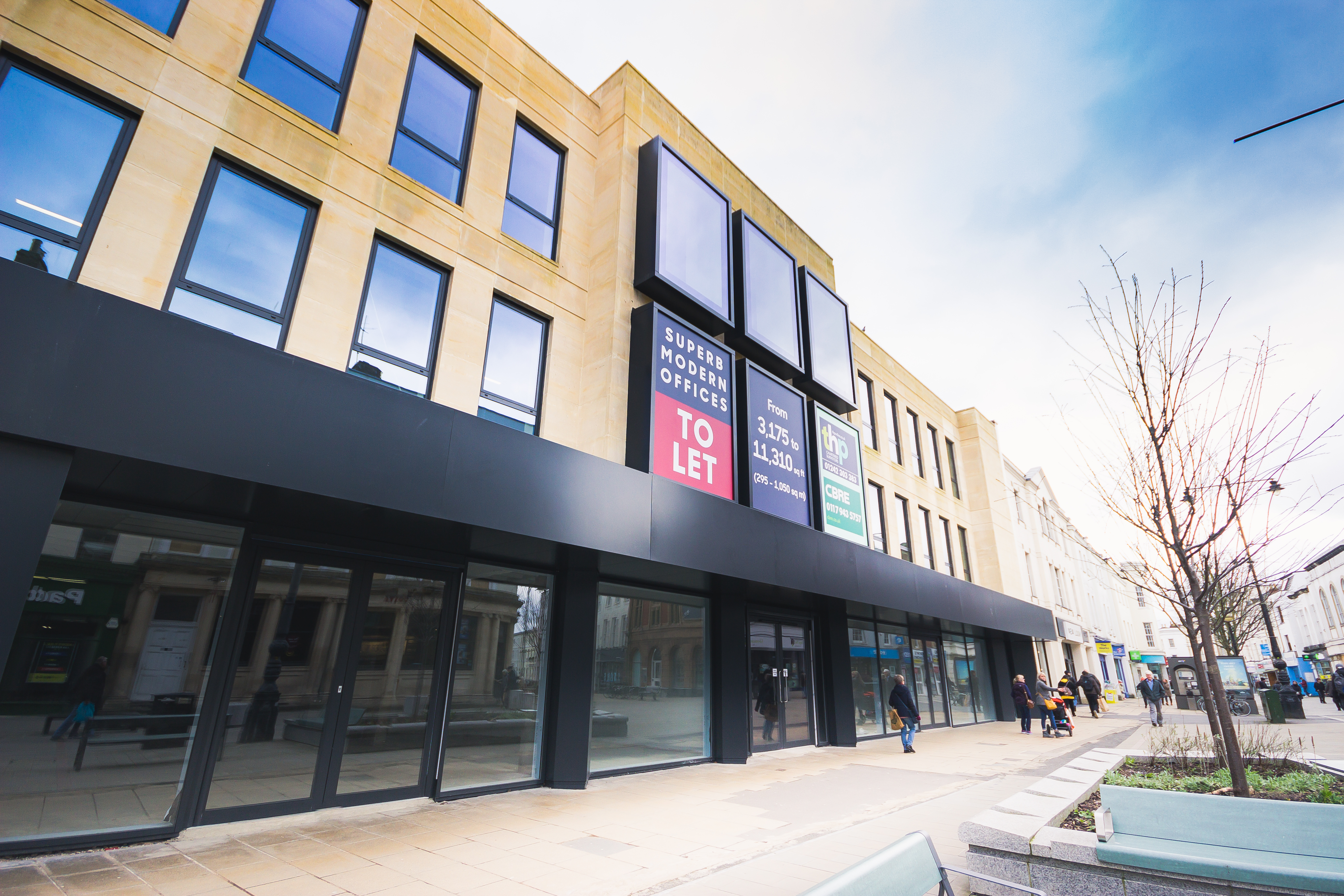 ADDINGTON CAPITAL SECURES NEW 10 YEAR LEASES ON OFFICE FLOORS IN RE- PURPOSED MIXED-USE BLOCK IN CHELTENHAM